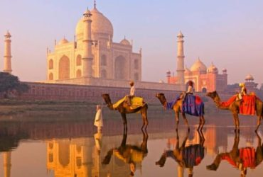Taj Mahal Evening