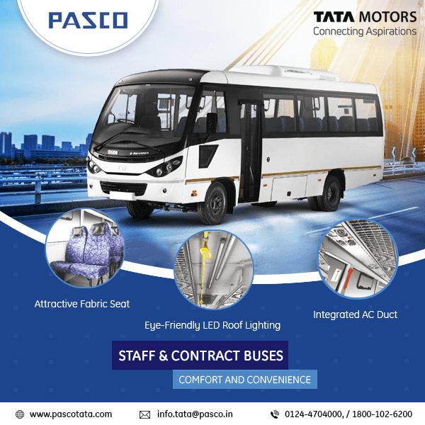 Tata bus showroom